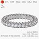 Engagement ring 3D print model - 3DOcean Item for Sale