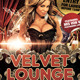 Velvet Lounge Poster or Flyer Template - GraphicRiver Item for Sale