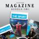 Sport Magazine bundle - GraphicRiver Item for Sale