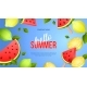 Summer Bright Banner - GraphicRiver Item for Sale