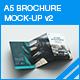 A5 Trifold Brochure Mock-up v2 - GraphicRiver Item for Sale