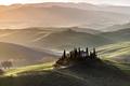 Green hills of Tuscany at sunrise - PhotoDune Item for Sale