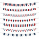 4Th of July Vector Bunting Banners Set - GraphicRiver Item for Sale