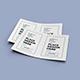 Bifold Flyer Mockup Template Set Vol 2 - GraphicRiver Item for Sale