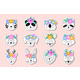 Stickers of Hand Drawn Animals - GraphicRiver Item for Sale