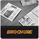 Modern Newspaper Square Brochure - GraphicRiver Item for Sale