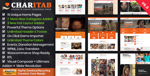Charitab - Nonprofit Charity