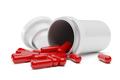 White tube for capsule pills or vitamins. 3d rendering. - PhotoDune Item for Sale