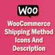 WooCommerce Shipping Icons And Description - CodeCanyon Item for Sale