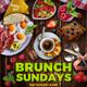 Brunch Sundays Flyer Template - GraphicRiver Item for Sale