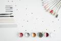 Tools of manicure set on white background. - PhotoDune Item for Sale