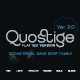 Quostige-Flatted Sans Serif Family Version 2.0 - GraphicRiver Item for Sale