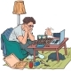 Online Chess Game in the Period of Quarantine and