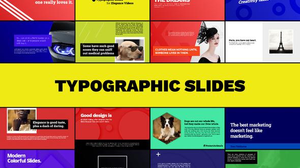 Typographic Slides