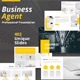 Business Agent Keynote Template - GraphicRiver Item for Sale