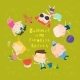 Happy Children Lying on Green Grass - GraphicRiver Item for Sale