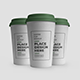 Plastic Coffee Cup with Lid Mockup Template Set - GraphicRiver Item for Sale