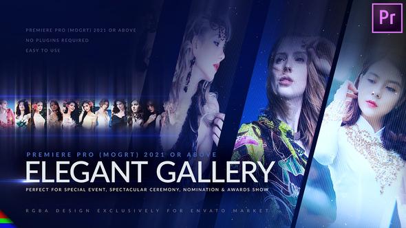 Elegant Photo Gallery - Premiere Pro   Mogrt