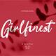Girlfinest Script Font - GraphicRiver Item for Sale