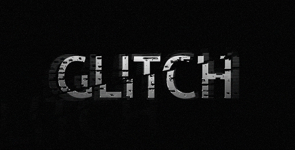 Glitch After Effects Templates from VideoHive