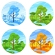 Four Seasons Landscape - GraphicRiver Item for Sale