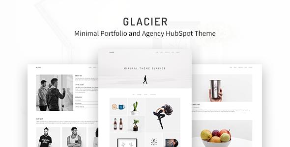 Glacier - Minimal Portfolio and Agency HubSpot Theme