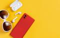 Smartphone, wireless earphones and sunglasses - PhotoDune Item for Sale
