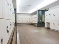 Lockers in the locker room of a gym without people - PhotoDune Item for Sale