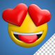 Emoji Hearteyes - VideoHive Item for Sale