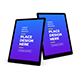 Tablet Device 3D Mockup Template Vol 2 - GraphicRiver Item for Sale