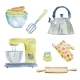 Illustration of Various Kitchen Tools - GraphicRiver Item for Sale