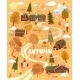 Nature Autumn Landscape with a House - GraphicRiver Item for Sale