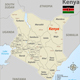 Map of Kenya with Cities - GraphicRiver Item for Sale
