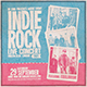 Indierock Flyer/Poster - GraphicRiver Item for Sale