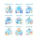Medical Healthcare Set Icons Vector Illustrations - GraphicRiver Item for Sale