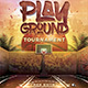 Basketball Playground Tournament Flyer - GraphicRiver Item for Sale