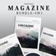 Natural Magazine bundle - GraphicRiver Item for Sale
