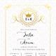 Royal Wedding Invitation Set - GraphicRiver Item for Sale