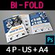 Auto Parts Catalog Bi-Fold Brochure Template Vol.4 - GraphicRiver Item for Sale