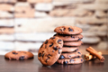 Oatmeal cookies with chocolate and cinnamon - PhotoDune Item for Sale
