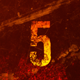 Grunge Countdown Intro - VideoHive Item for Sale