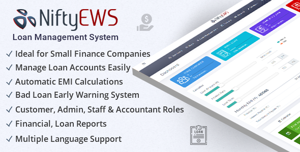 NiftyEWS – Loan Management System