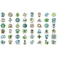 Natural Resources Icons Set Vector Flat - GraphicRiver Item for Sale