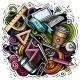 Cartoon Vector Doodles Art and Design Illustration - GraphicRiver Item for Sale