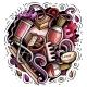 Nail Salon Hand Drawn Vector Doodles Illustration - GraphicRiver Item for Sale