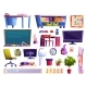 School Classroom Elements Furniture and Gadgets - GraphicRiver Item for Sale