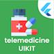 Medical Telemedicine Flutter App UIKIT - CodeCanyon Item for Sale