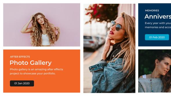 Clean Photo Gallery - Premiere Pro