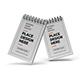Notepad Paper Mockup Template Set Vol 2 - GraphicRiver Item for Sale