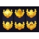Set Golden Awards with Icons Crown Dollar - GraphicRiver Item for Sale